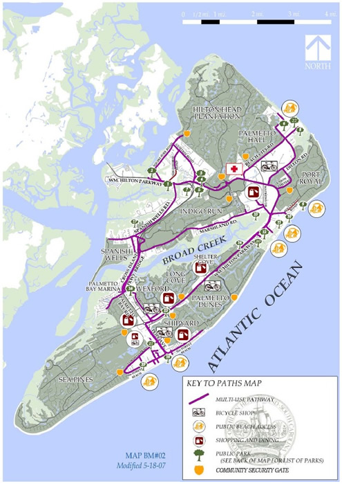 Hilton Head Island Maps Guide To Local Attractions And Hilton Head
